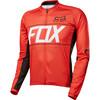 Fox Ascent Koszulka kolarska Mężczyźni czerwony